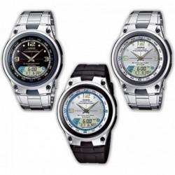 Reloj Casio Aw 82d Hora De Pesca Hombre Acero 100% Original (Entrega Inmediata)