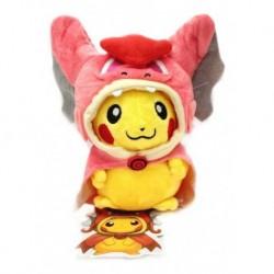 Pokémon Pikachu Gyarados Rosado Peluche Pequeño (Entrega Inmediata)