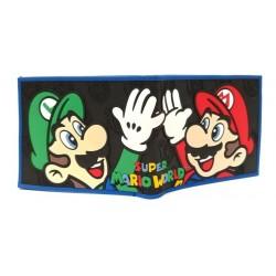 Super Mario Bros Luigi Billetera En Goma De Caucho (Entrega Inmediata)