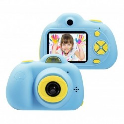Cámara Digital Para Niños Y Niñas Foto-video +microsd 32 Gb
