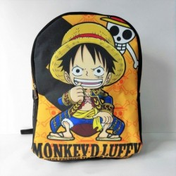 Morral One Piece Anime Luffy Maleta 45x35 Cm Niño/ Adulto (Entrega Inmediata)