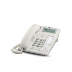 Teléfono Panasonic Ejecutivo Kx T7716 Con Identificador Blan (Entrega Inmediata)