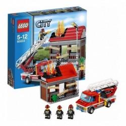 Lego City 60003 - Llamada De Emergencia (Entrega Inmediata)