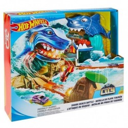 Hot Wheels - Batalla En Playa Tiburon (Entrega Inmediata)
