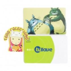 Tarjeta Trasporte Sticker Anime Totoro No.6 (Entrega Inmediata)