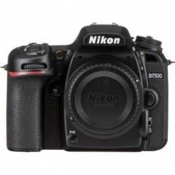 Cámara Nikon D7500 20.9 Mpx 4k Solo Cuerpo +kit De Limpieza