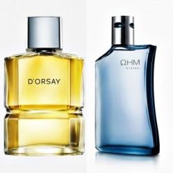 Perfume Dorsay Esika + Ohm Azul Hombre Yanbal Original (Entrega Inmediata)
