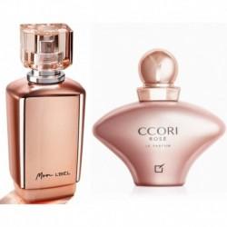 Perfume Mon Lbel + Ccori Rose Yanbal Dama Original (Entrega Inmediata)