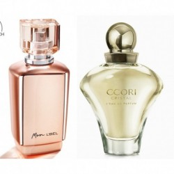 Perfume Mon Lbel + Ccori Cristal Yanbal Dama Original (Entrega Inmediata)