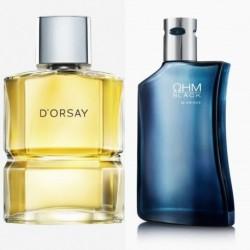 Perfume Dorsay Esika + Ohm Black Yanbal Hombre Original (Entrega Inmediata)