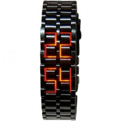 Reloj MASTOP M056 Hombre Lava Stainless Steel RED (Importación USA)