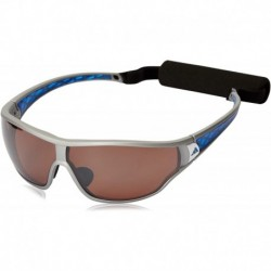 Gafas adidas Tycane Pro S A190 6053 Polarized Rectan (Importación USA)