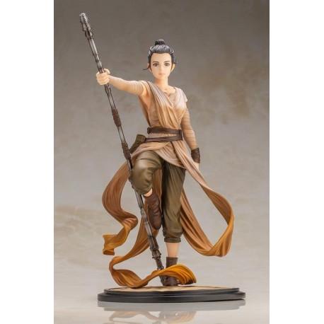 Figura Kotobukiya Star Wars Rey Artist Series Descendant o
