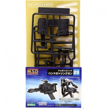 "Figura ""Hand Gatling Guns"" MSG Weapon Unit 29 Modeling Sup"