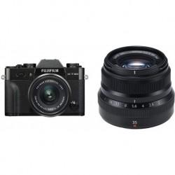 Camara Fujifilm X-T30 XC15-45mm Lens Kit Black F (Importación USA)