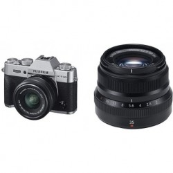 Camara Fujifilm X-T30 XC15-45mm Lens Kit Silver (Importación USA)