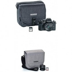 Camara Olympus OM-D E-M10 Mark III Camera Kit wit 6 (Importación USA)