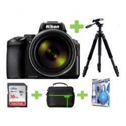 Camara Nikon Coolpix P950 16mp 83x+16gb+bolso+kit+tripode (Entrega Inmediata)