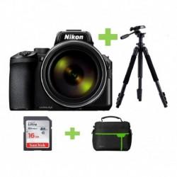 Camara Nikon Coolpix P950 Wi-fi 16mp 83x+16gb+bolso+tripode (Entrega Inmediata)