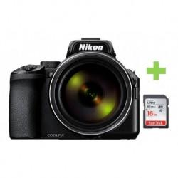 Camara Nikon Coolpix P950 16mpx Zoom 83x Wi-fi + 32gb (Entrega Inmediata)