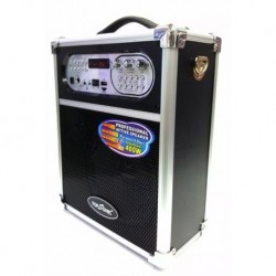 Cabina Portátil Bluetooth 400 Wats - Fm, Usb, Microf + Envío (Entrega Inmediata)