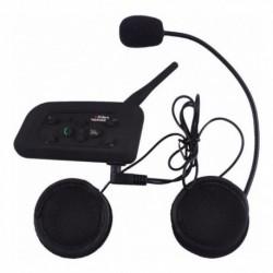 Intercomunicador De Moto Para Casco 1200mt Bluetooth V6-1200 (Entrega Inmediata)
