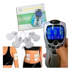 Gimnasia Pasiva Electro-estimulación Muscular 4 Electrodos (Entrega Inmediata)