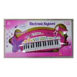Organeta Teclado Musical Para Niñas Con Micrófono Y Mp3 37 T (Entrega Inmediata)