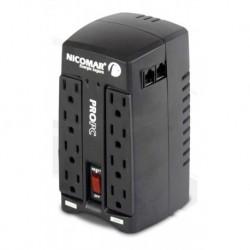 ¡ Regulador Electrónico Voltaje Pro Pc 1000 8 Puntos 1kva !! (Entrega Inmediata)