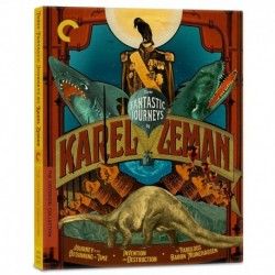 Blu-Ray Three Fantastic Journeys by Karel Zeman Journey to the Beginning of Time/Invention for Destruction/The Fabulous